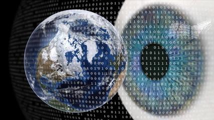 Worldwide digital surveillance.