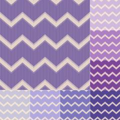 seamless purple violet chevron pattern