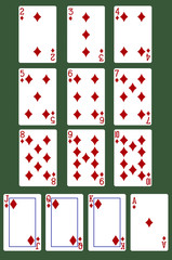 all diamond cards