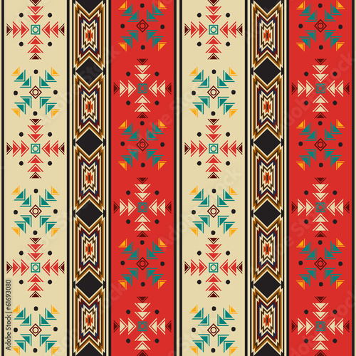 Navajo style pattern - 61693080