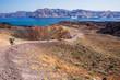 Leinwandbild Motiv Santorini's Volcano