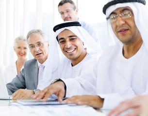 Arabic Business Meeting