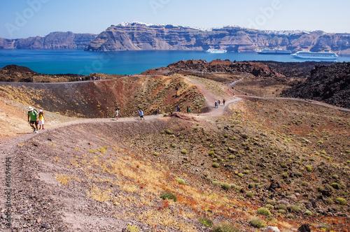 Santorini's Volcano - 61696404
