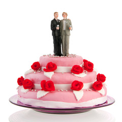 wedding cake gay