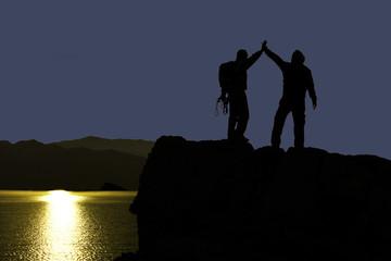 birlikte zirve başarısı&dağcılar