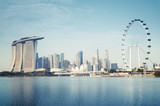Singapore`s business district