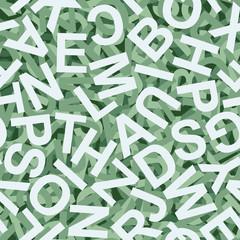 Buchstaben Hintergrund bunt - endlos