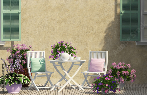 Beautiful terrace