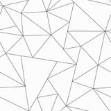 Fototapety monochrome triangle seamless pattern