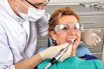 visit to dentist