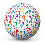 """QUESTIONS"" Globe (faq answers questions marks help information)"