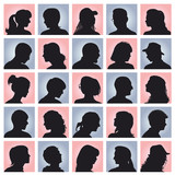 Fototapety people avatars