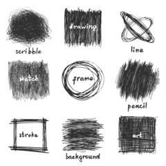 scribble frames