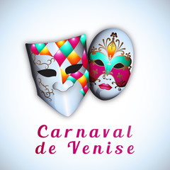 Carnaval de Venise - Illustration vectorielle