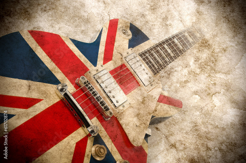 grunge british pop guitar - 61702874