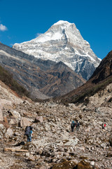 Trekking in Everest region, Himalayas of Nepal