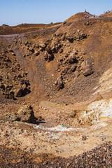 Crater of Santorini's Volcano