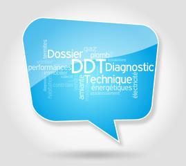 Bulle nuage de mots DDT