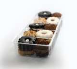 cookies in plastic box