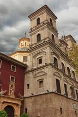 Old church of Santo Domingo in Murcia, Spain