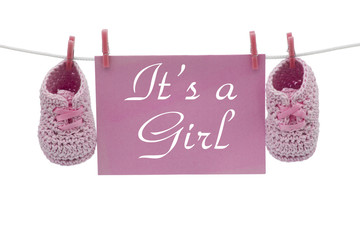 It is a Girl Announcement