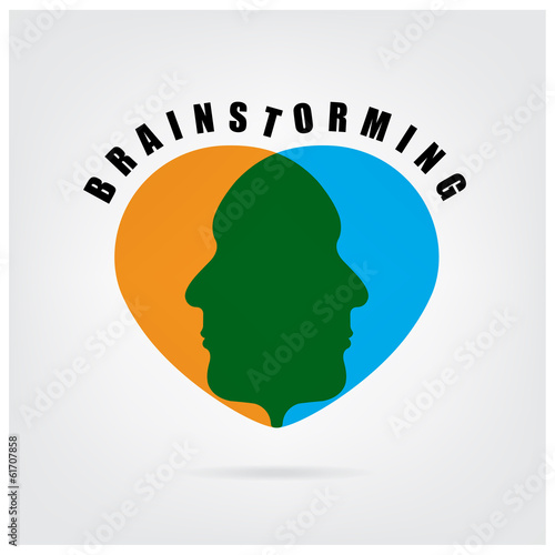 brainstormming sign