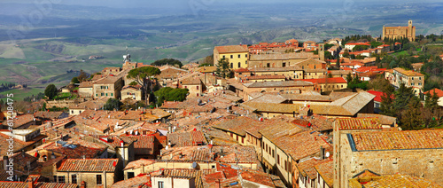 medieval towns of Toscana, Volterra. Italy