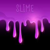 Purple Gooey Slime