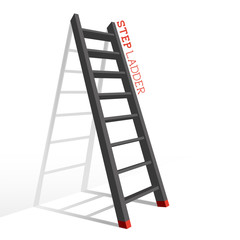Metal Step Ladder Vector