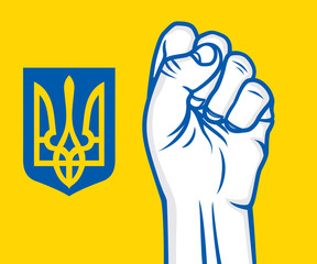 Ukraine revolution fist