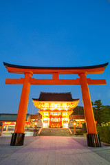 Fushimi Inari Shrine Kyoto Japan © vichie81