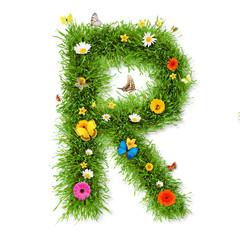 "Spring letter ""R"""