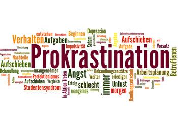 Prokrastination (Aufschieberitis, Arbeit)