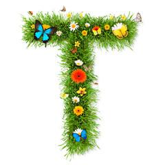 "Spring letter ""T"""