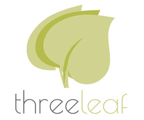 Three leaf logo