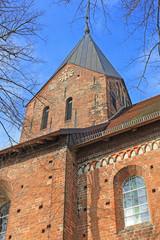 Romanische Stadtkirche Gadebusch (13. Jh.,Mecklenburg-V.)