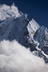 Mt. Thamserku -  Himalayas, Solukhumbu District, Nepal