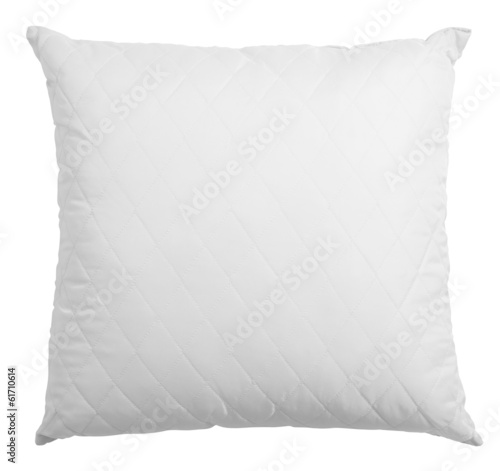 white pillow isolated - 61710614