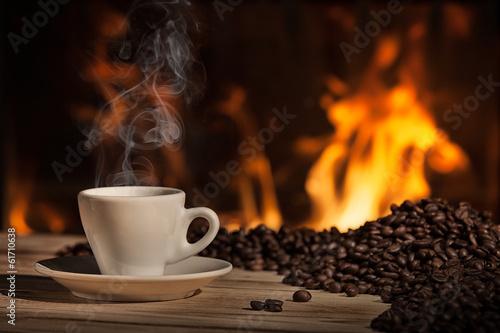 Fotobehang Cafe caffè napoletano