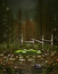 Enchanted nature series - Little green pond