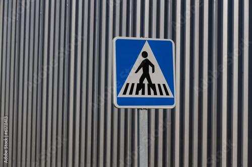 Señal de Paso de Peatones Paso de Cebra