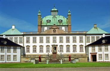 Royal palace, Fredensborg, Denmark