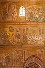 Palerme - la vie de Jésus en mosaïque de Monreale cathédrale