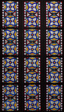 Bratislava - Detail of windowpane in presbytery of cathedral