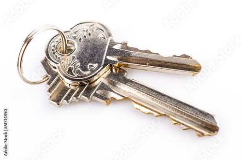 key isolated white background