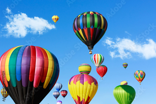 Colorful hot air balloons - 61715829