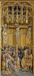 Vienna - Crucifixion from altar in Church of the Teutonic Order