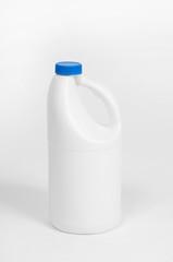 detergent bottles, white plastic bottle