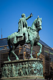 Statue of Prince Michael in Belgrade Serbia