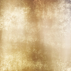 Elegant beige or golden grunge background